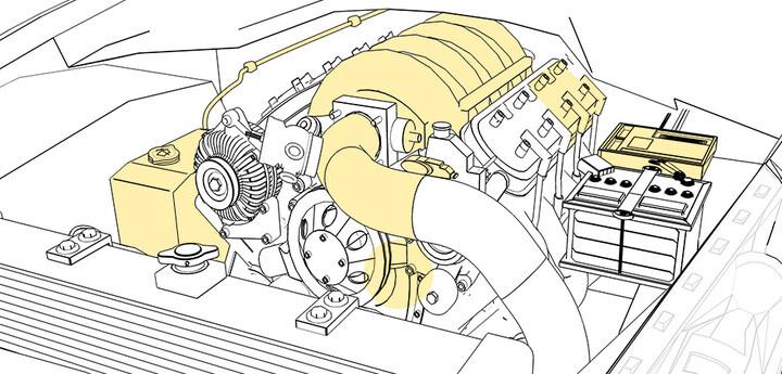 Compartimento del motor