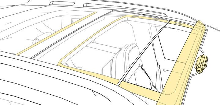 Системы крыши автомобиля